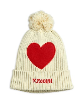 Heart pompom hat Offwhite - Chapter 3