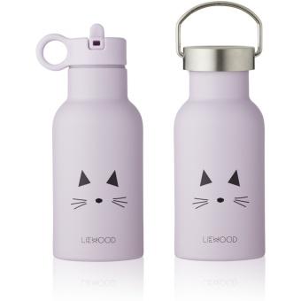 Anker water bottle Cat light lavender