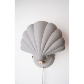 SHELL METAL WALL LAMP