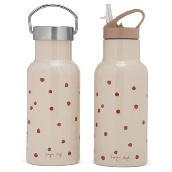 THERMO BOTTLES RASPBERRY/RED DOT