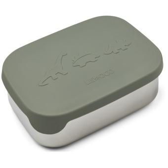 Arthur lunchbox Dino faune green