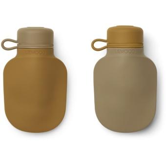 Silvia smoothie bottle 2-pack Golden caramel oat mix