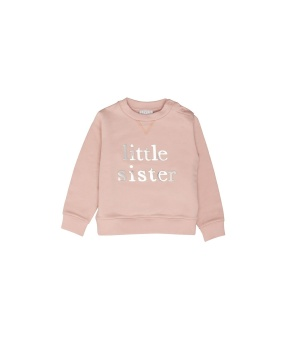 SIBLING SWEATSHIRT LITTLE SISTER