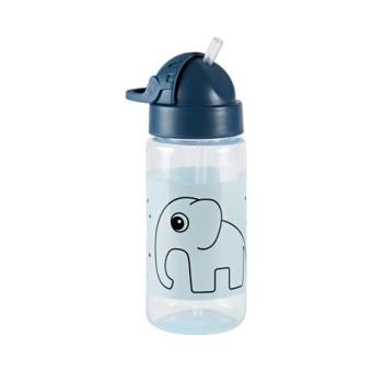 Flaska med Sugrör Elphee, Blue