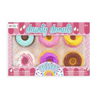 Dainty Donuts – Scented Erasers