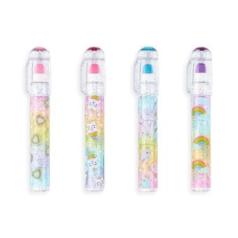 Rainbow Glitter Gem – Scented Erasers