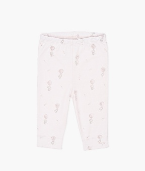 Flying Elephants Leggings Pink