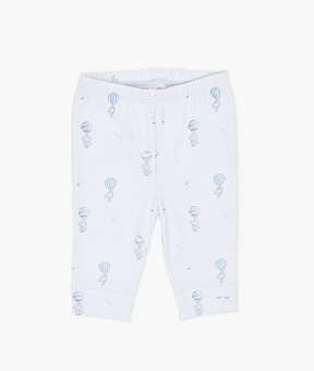 Flying Elephants Leggings Blue