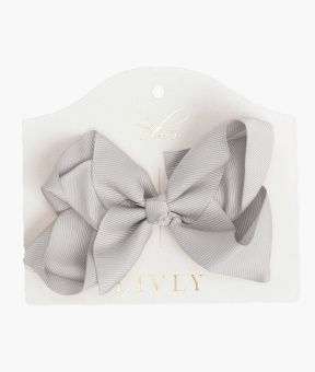 Large bow shell grey
