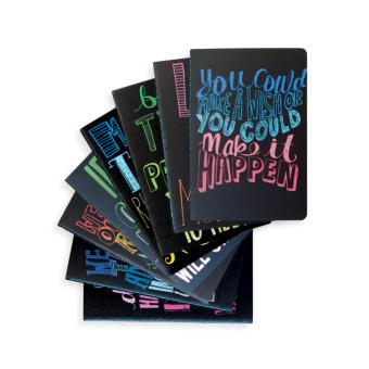 Ooly Pocket pal mini journals 8-pack