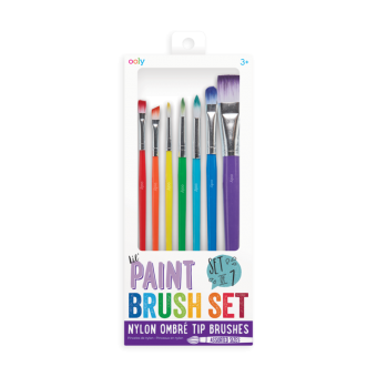 Ooly paint brush set 7-pack