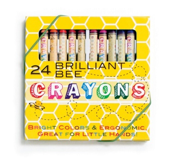 Brilliant Bee Crayons, 24 st