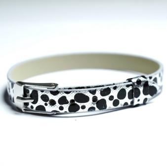 Namnarmband Armband - Dalmatin svart