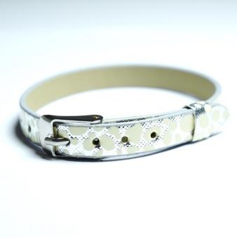 Namnarmband Armband - Dalmatin vit