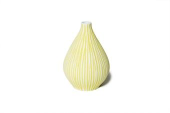 Lindform Vase Kobe Yellow Stripe Small