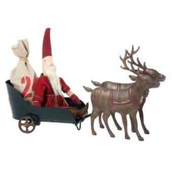 Santas Sleigh with Reindeers
