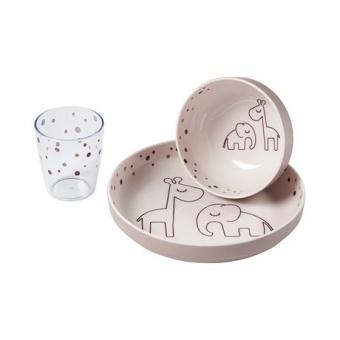 Yummy Mini Matset Dreamy Dots - Powder