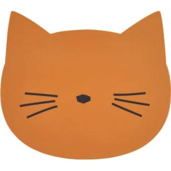Bordsunderlägg Katt Mustard