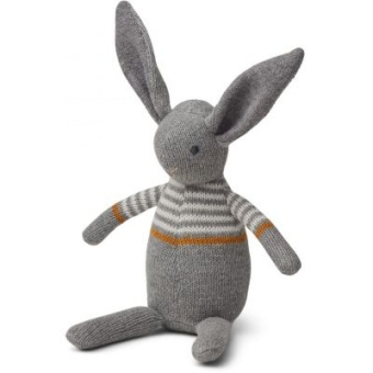 Dextor Knit Teddy Rabbit Grey Melagne