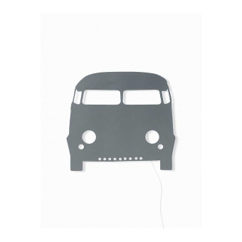Car Lamp - Dark Grey