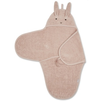 Nomi baby swaddle Rabbit Rose