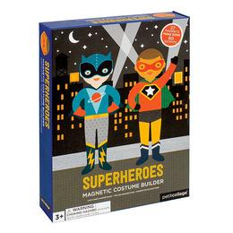 Superheroes-magnetiska påklädningsdockor