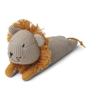 Missy knit teddy Lion stone beige