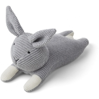 Missy knit teddy Rabbit grey melange