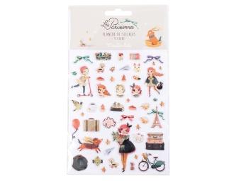 Stickers Les Parisiennes Flickor