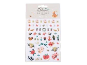 Stickers  Les Parisiennes Blommor