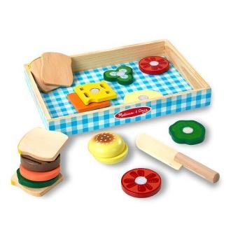 Smörgås Kit i Trä - Wooden Sandwich Set