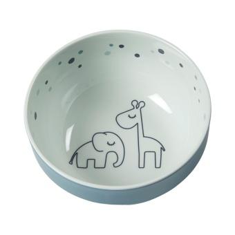 Yummy mini bowl, Dreamy dots, blue