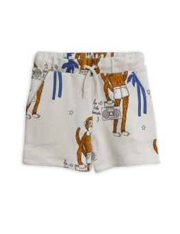 Cool monkey aop sweatshorts / Grey