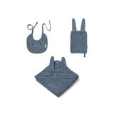 Adele Frotté Baby Set Rabbit Blue wave