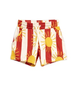 Sun stripe aop shorts