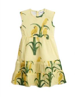 Parrot woven dress