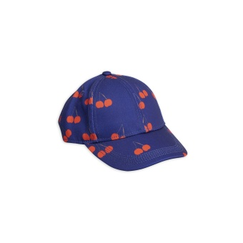 Cherry printed cap