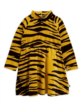 Tiger velour dress