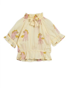 Unicorns woven bow blouse - Chapter 5