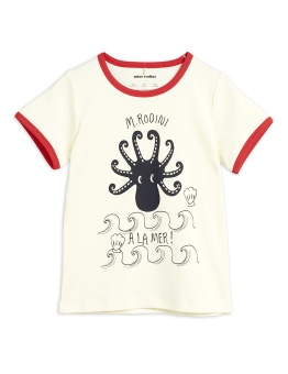Octopus ss tee Red