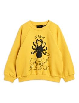 Octopus sp sweatshirt yellow