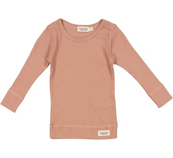 Plain Tee LS - Modal Rose Brown
