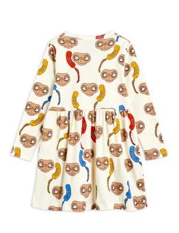 E.T. AOP LS DRESS