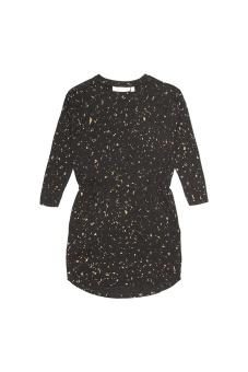 Dress Gold Flakes, Black