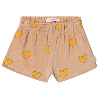 Hearts Shorts Light Nude/Gul