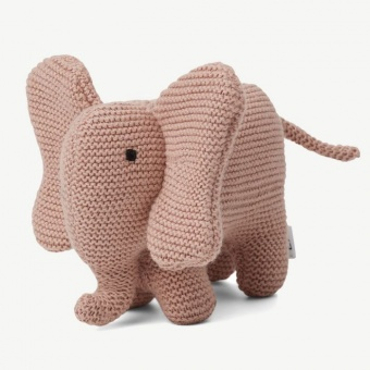 Vigga Knit Mini Teddy in Elephant rose