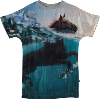Cyrille T-Shirt Swimming Horse
