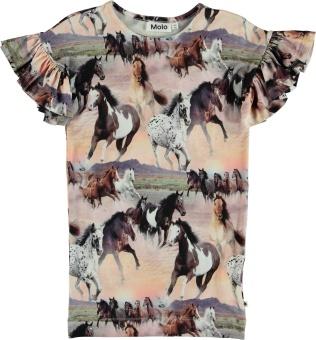 Coralie Dress Wild Horses