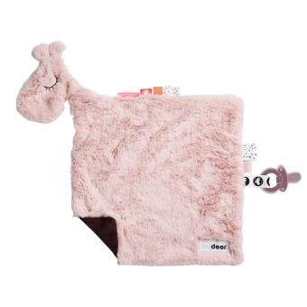 Snuttefilt Raffi Rosa