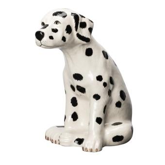 Dalmatian Pongo 20x21 cm, Vit/Svart
